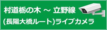 村道栃の木~立野線(長陽大橋ルート)ライブカメラ
